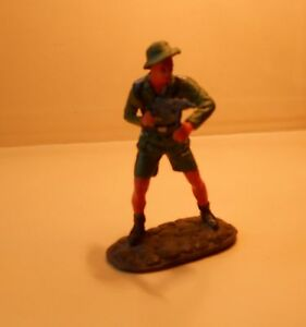 Zinnsoldat-Zinnfigur-WK2-Sammler-3-Reich-Deutsche-Wehrmacht-Uffz-mit-MP