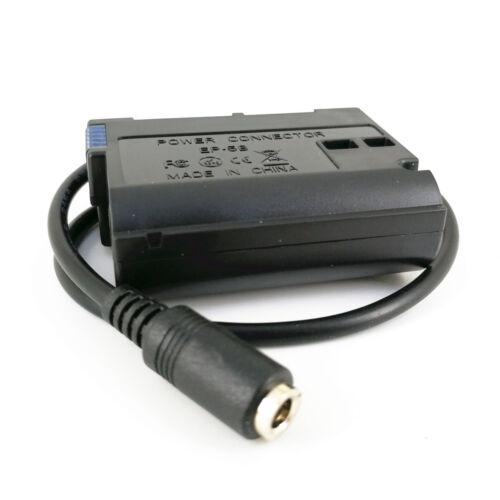 Batería Maniquí EN-EL15 DC Acoplador Adaptador Para Nikon EH-5A EH-5B reemplazar EP-5B