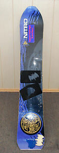 Details about Vintage Nitro Snowboard 156 Fusion EC123 Sidecut 9 4M Made in  Austria