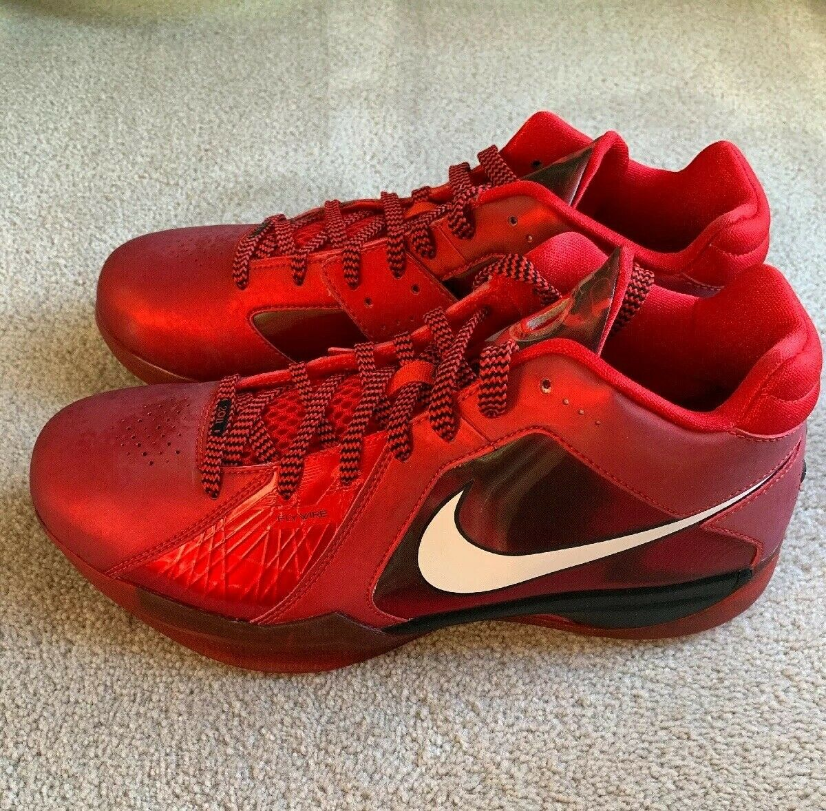 DS Deadstock Nike Kevin Durant KD 3 III All Star LA West Red Size 9.5