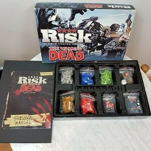 RISK-THE-WALKING-DEAD-Survival-Edition-Board-Game-Hasbro-USAopoly-Aus-Seller