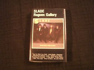 Slade - Rogues Gallery - 1985 German Cassette / Exc./ Prog Hard Rock AOR