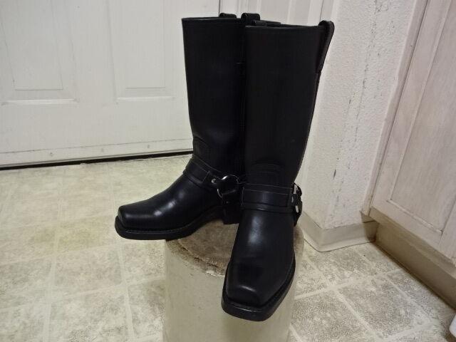 Excelente Cond pocas veces usado Hecho en EE. UU. Frye ARNÉS Moto botas de mujer 6