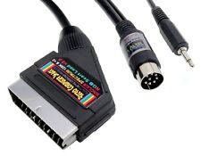 Sinclair ZX Spectrum+ 128K & +2 (Grey Model) RGB Scart Lead Video Cable TV Lead
