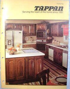 Vtg-TAPPAN-Appliances-Catalog-RETRO-Kitchen-Range-Oven-Refrigerator-1979