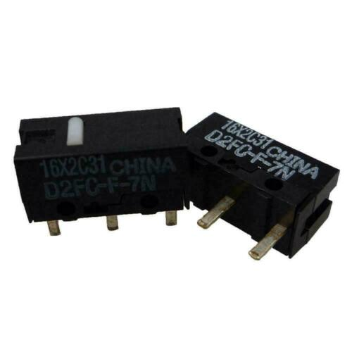 Micro Microswitch For OMRON D2FC-F-7N Mouse D2F-J Microswitch P4L2
