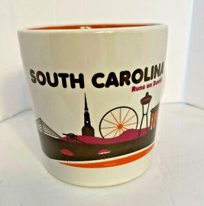 Dunkin Donuts South Carolina Destination Mug Runs On Dunkin 2012