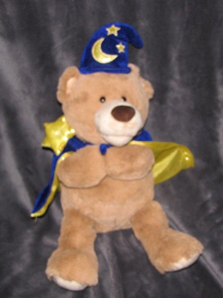Gund Plush Merlin The Magical Spell Teddy Bear 4058683 Magician