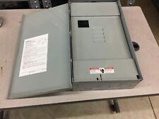 SIEMENS W0404MB1200CT 200 Amp Outdoor Trailer Panel