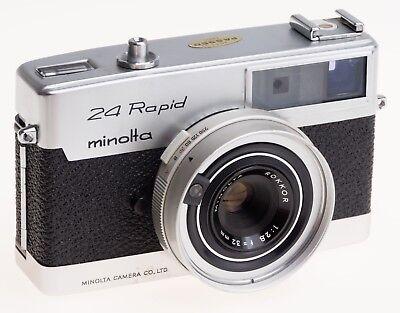 Minolta Rapid 24 with extras