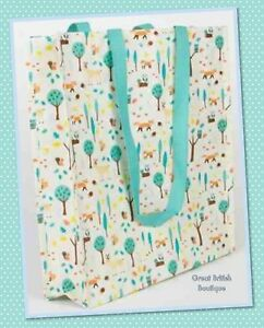 Quirky-Sass-amp-Belle-Whimsical-Woodland-Reuseable-Shopping-Bag-Foldaway-Durable