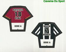 BATISTUTA AS.ROMA WALEM UDINESE FIGURINE STICKER CALCIO MERLIN 2000-2001