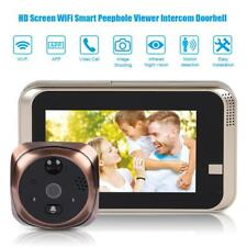 720P Wireless Doorbell Camera WiFi Remote Video Door Intercom IR Security Bell