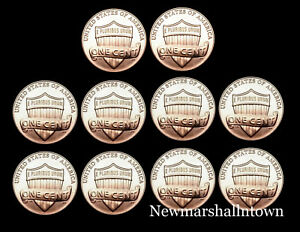 Mint Coins from Bank Roll 2015 P+D Lincoln Shield Set ~ Uncirculated U.S