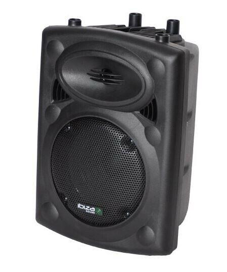 """Diffusore portatile Woofer 8"""" - 20cm 300W con USB - MP3 - Bluetooth"""
