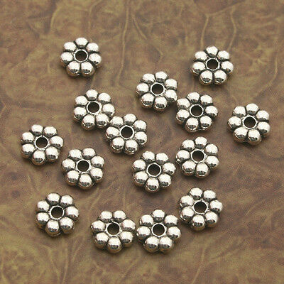 1000pcs Tibetan Silve daisy Spacer bead Findings X0211
