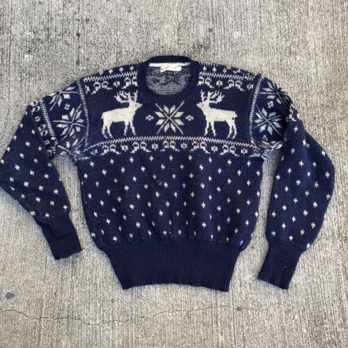 RARE Vintage 1940s Jantzen snowflake Ski Sweater D