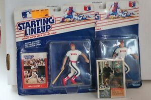 "2 WALLY JOYNER ""Starting Lineup"" Figures with Milk Bone Card"