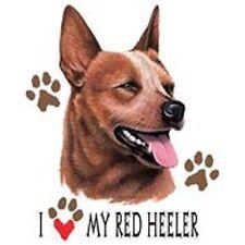 Red Heeler Love Tote
