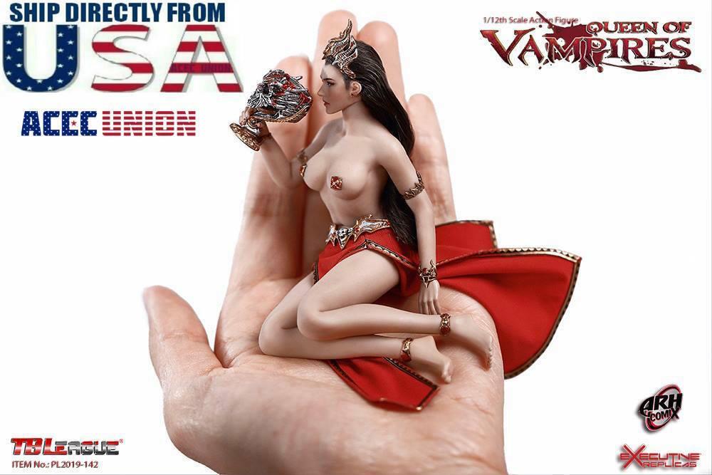 PREORDER TBLeague PHICEN 1 12 Arkhalla Queen Queen Queen of Vampires Figure Set PL2019-142 247108