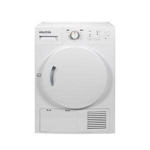electriQ 8kg Heat Pump Tumble Dryer - White