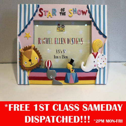Star Of The Show Photo Frame By Rachell Ellen Designs Circus Nursery