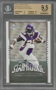 Peterson-Adrian-RC-FHOF-2007-Upper-Deck-Rookie-exclusives-279-BGS-9-5