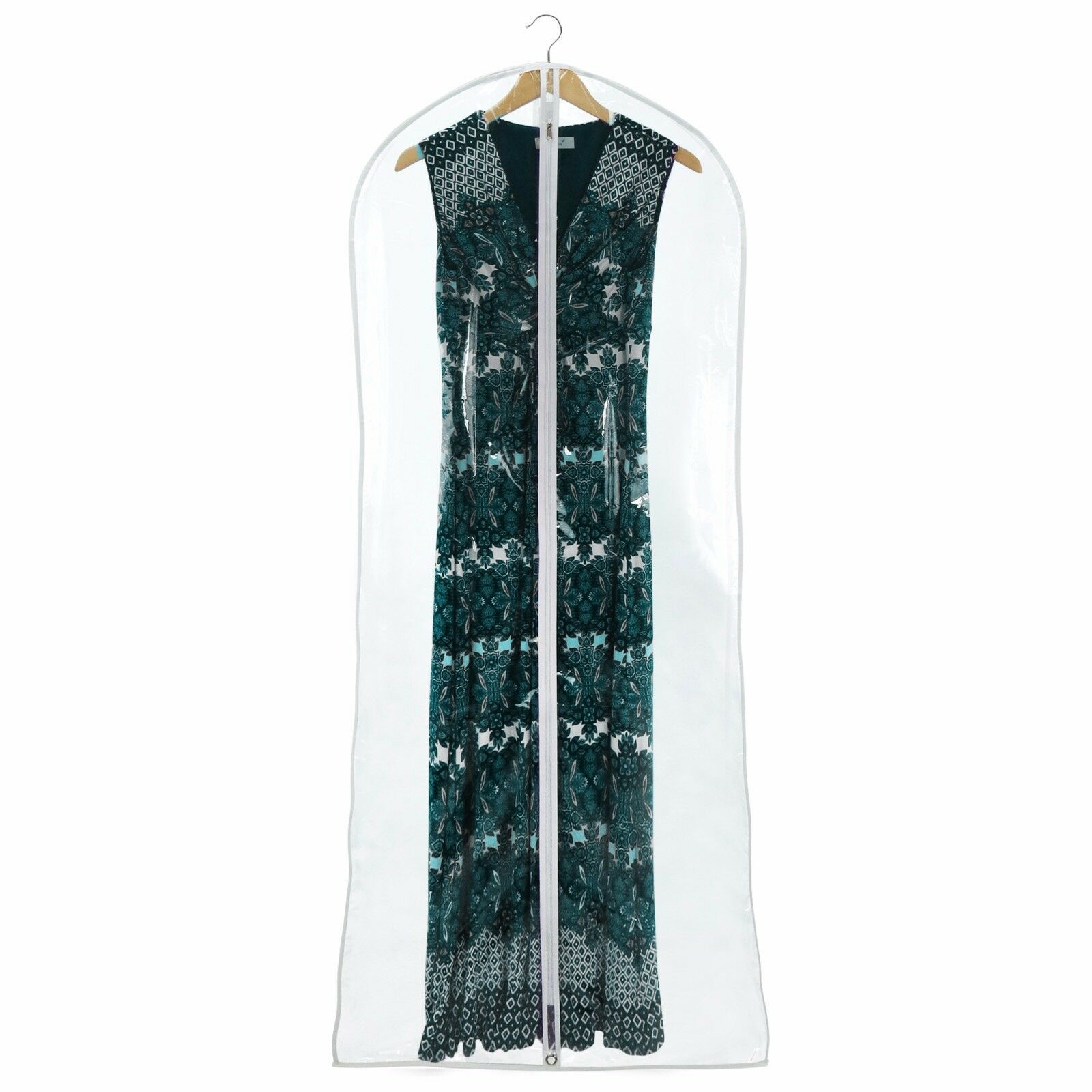 Hangerworld™ 72  Clear Showerproof Dress Covers Covers Covers Garment Clothes Protector Bags 77834f
