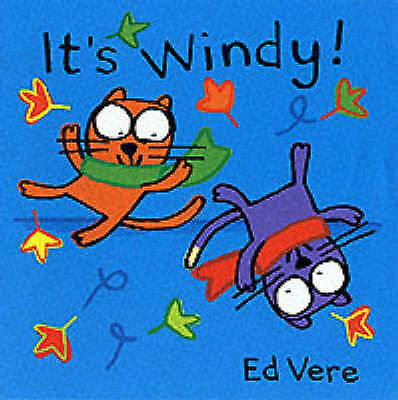 (Good)-Ginger + Ollie:It's Windy! (Ginger & Ollie Go Out to Play) (Board book)-V