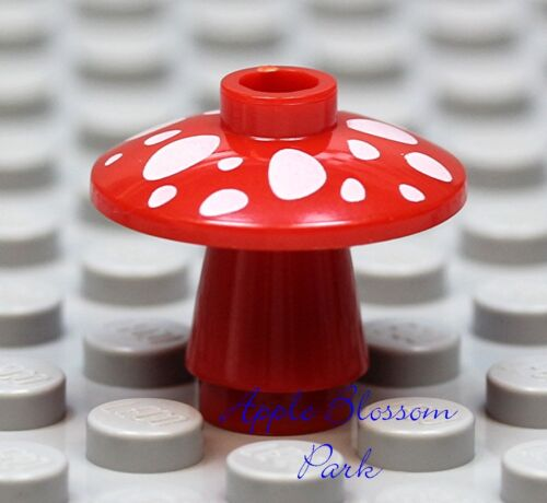 Plant 4 Minifig//Minifigure Harry Potter NEW 1 Lego Red MUSHROOM w//White Spots