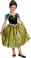 Anna Deluxe Coronation Gown Costume W/SCEPTER!!! Frozen 4-6 by Disguise76909 NEW
