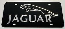 Jaguar Chrome Mirror License Plate Auto Tag