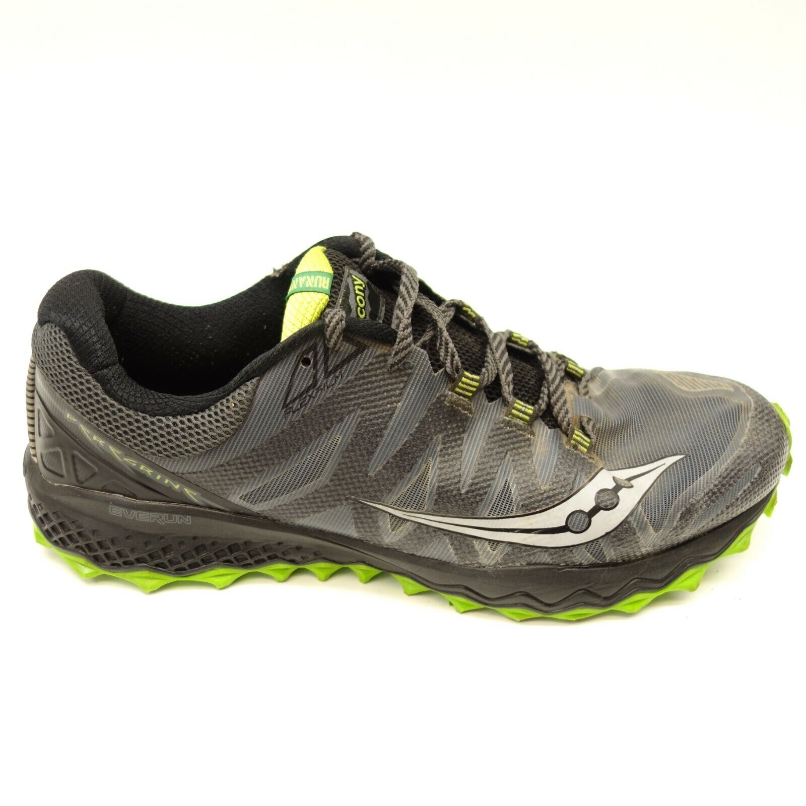 Saucony Mens Peregrine Everun Mesh Athletic Support Terrain Running shoes 12