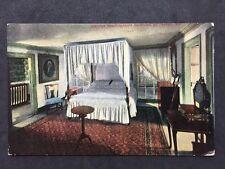 RP Vintage Postcard - USA - #26 George Washington's Bedroom Mt Vernon VA