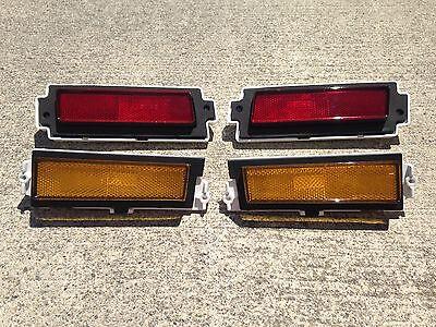 New 1981 1988 Monte Carlo SS rear marker light bezals