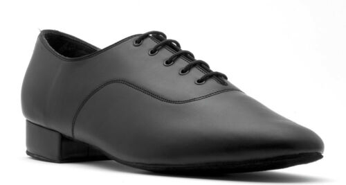 À Salle Hommes Danse V101 Cuir Latine Noir Lacets Vernies Par Chaussures De 1XtXw