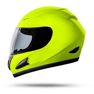ATO-Neon-Integralhelm-Groesse-S-55-bis-56cm-mit-Visier-ECE-2205-Motorradhelm-Gruen