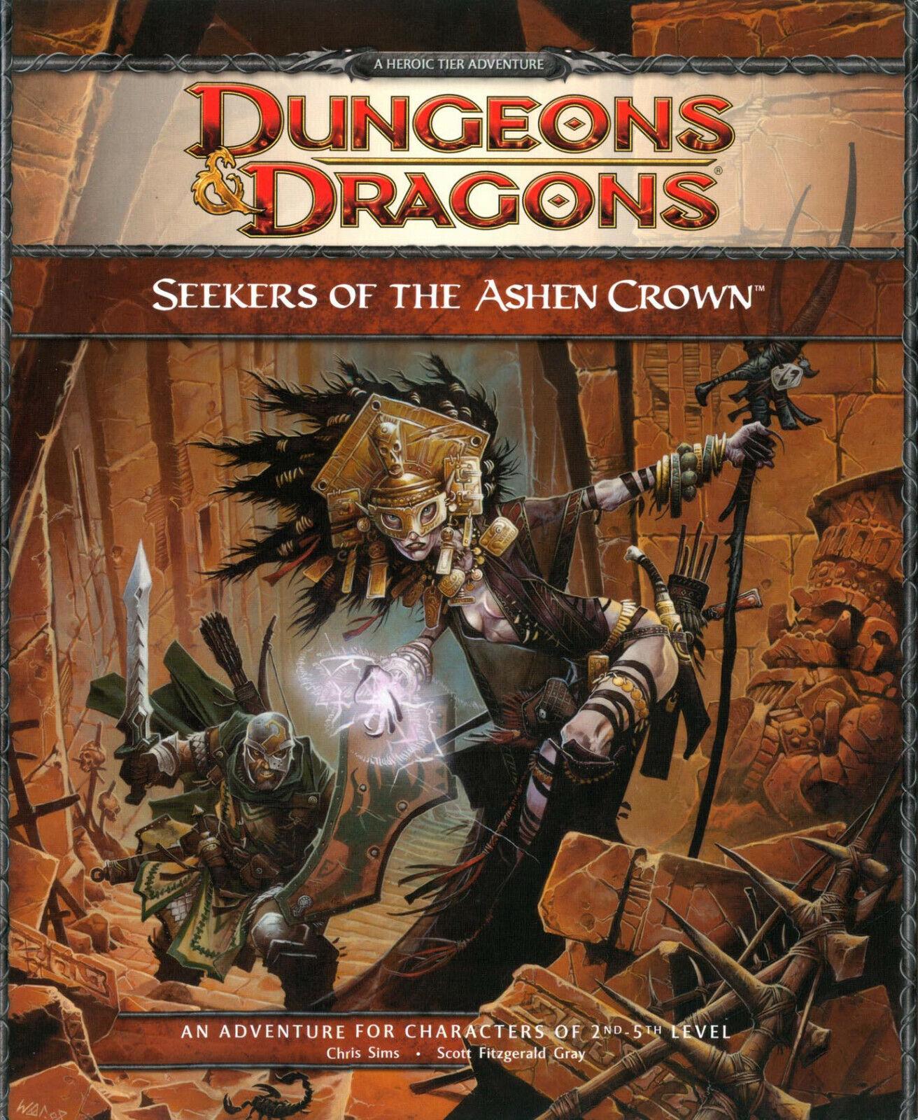 Cercatori della corona Ashen  AVVENTURA PER D&D 4th EDIZIONE (Dungeons & Dragons)  comodamente