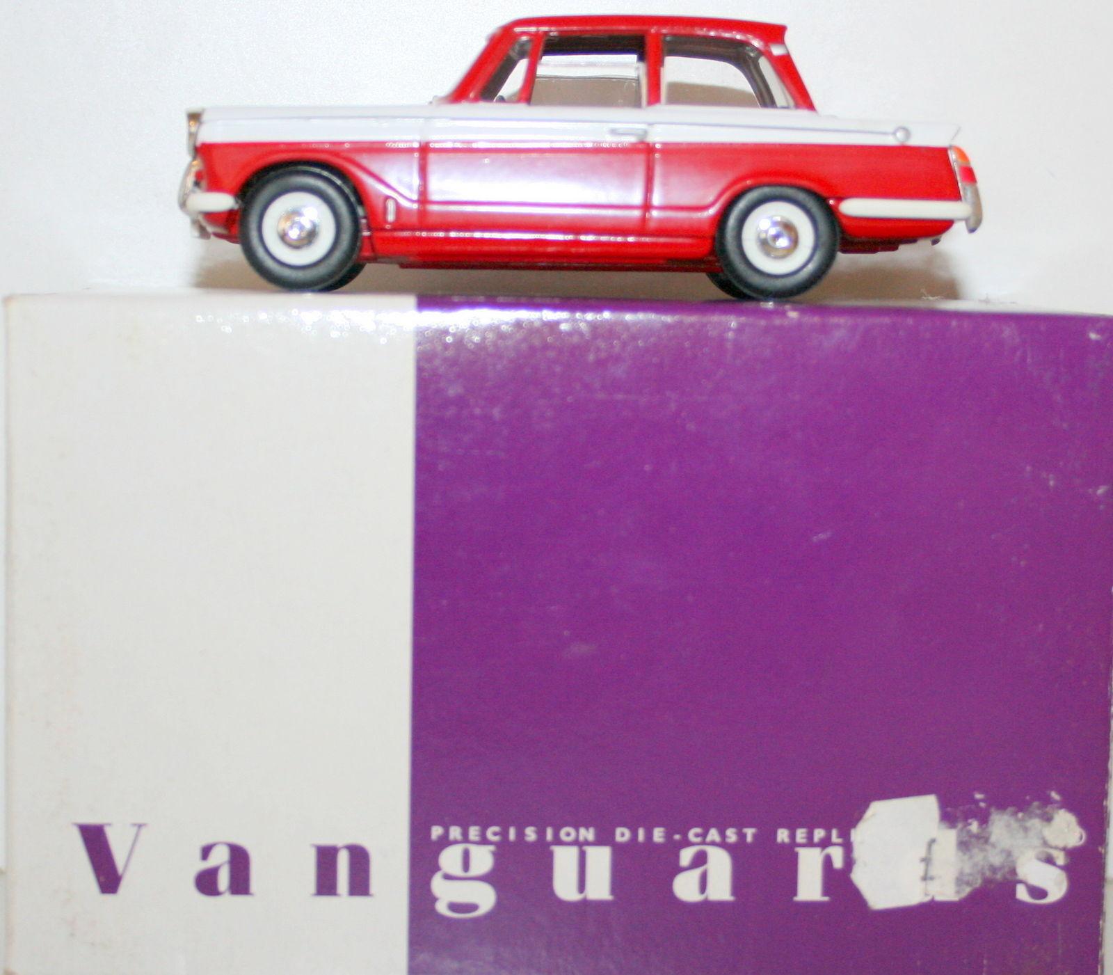 Vanguards 1/43 VA00513 Rojo Rojo Rojo Y Blanco Triumph Herald a4f74c