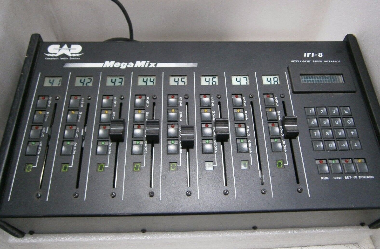 CAD MEGAMIX IFI-8 INTELLIGENT FADER INTERFACE USED