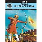 Great Rulers of India by Amar Chitra Katha Pvt (Hardback, 1999)