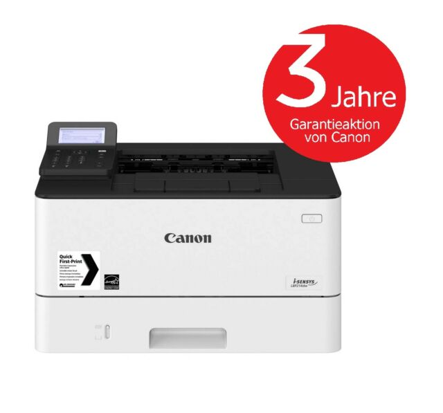Canon i-SENSYS LBP214dw Laserdrucker s/w (A4, Drucker, Duplex, LAN, WLAN, Mobil)