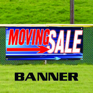 moving sale going on now business promotional advertising vinyl