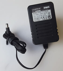 Details about LINKSYS RH48-1201000DB AC/DC POWER SUPPLY ADAPTER 12V 1A UK  PLUG