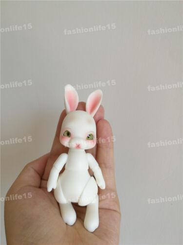 1//12 BJD DOLL Cute Tobi Rabbit Animal free eyes with face make up White Skin