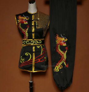 Embroidery Kung fu Tai chi Uniform Nanquan Martial arts Suit