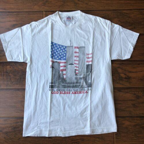 Vintage World Trade Center Shirt Sz.L AAA
