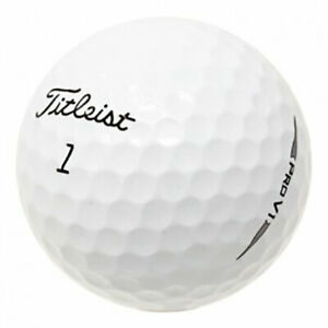120 Titleist Pro V1 2019 Golf Balls *No Markings or Logos*
