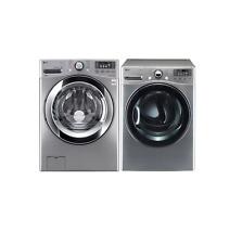 "LG DLEX3470V/WM3670HVA 27"" Graphite Steel Washer and Electric Dryer Set #2"