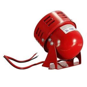12V-Automotive-Air-Raid-Siren-Horn-Car-VTG-Motor-Driven-Fire-Alarm-Loud-Horn-FA